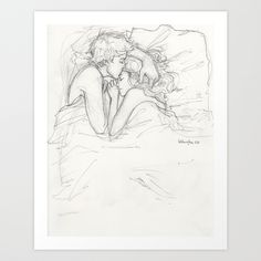 Dream a Little Dream Art Print by Burdge | Society6