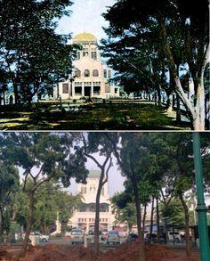NV Bouwploeg, Entrée-Boulevard-Weltevreden, ca 1908 1930, ,., Mesjid Cut Meutia, Jakarta, 2019 Jakarta, City, Cities