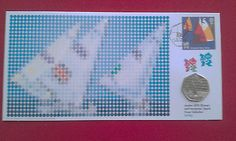 #Sailing - 2012 #london #olympic 50p coin first day cover pnc,  View more on the LINK: http://www.zeppy.io/product/gb/2/252397835596/