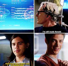 The Flash - Barry & Cisco #1.14 #Season1