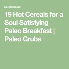 26 Easy Paleo Ground Beef Recipes for a Soul-Satisfying Meal Paleo Ground Beef, Ground Beef Dishes, Ground Beef Recipes, Matcha Milk, Paleo Grubs, Organic Beef, Hot Cereal, Cereal Recipes, Paleo Breakfast