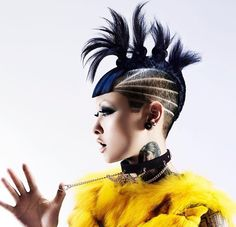 The Artistry Of Hair | Artistic hairstyles