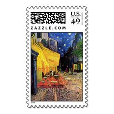 Van Gogh; Cafe Terrace at Night, Vintage Fine Art Postage Stamp you will get best price offer lowest prices or diccount couponeHow to          	Van Gogh; Cafe Terrace at Night, Vintage Fine Art Postage Stamp Review on the This website by click the button below...