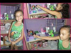 Tour :Minha casinha de boneca(Barbie) antes de finalizar