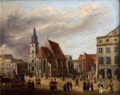 Teodor Baltazar Stachowicz - Plac Wszystkich Świętych w Krakowie.1820