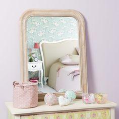 Specchio Louis naturale 80x60