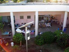 Solar power in Haiti