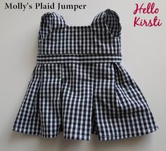 School-Dress-American-Girl- FREE PATTERN  (note to self...all Molly's clothes downloaded, all 68 pgs)