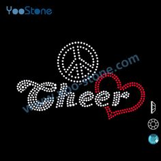Find More Rhinestones Information about Manufacturers China Wholesale Peace Love Cheer Rhinestone Transfers Free Shipping 20 pieces/lot 20 pieces/lot,High Quality rhinestone strap,China rhinestone mask Suppliers, Cheap lot of costume jewelry