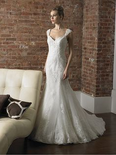 Bridal Dresses Off The Shoulder   ... Off-the-shoulder Lace Satin Court Train Ivory Appliques Wedding