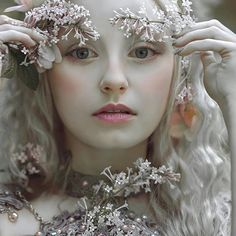 My fantasy image with Silverrr model in dress made by @fireflypath ✨ #agnieszkalorek #fantasy #fairy #fairytale #portrait #portraitmood #lilac #flowers #pale #doll #face #whitehair #blondehair #pastels #makeup #delikate #loveit #romantic #style #fineart #shoot #instalove