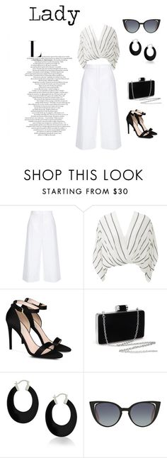 Lady personal styling for inverted triangle by monicazelin on Polyvore featuring Free People, ESCADA, STELLA McCARTNEY, Bling Jewelry and Fendi