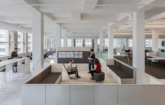 Rox Chair from Davis Furniture in the MITHUN Minneapolis office - designed by Snow Kreilich Architects