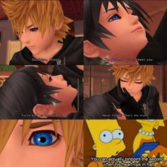 It breaks my Nobody heart when his eye slowly widens with realization of what just happened to Xion :'( :'(