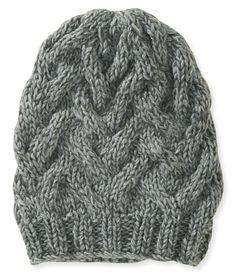 b0b5f956c54 Cable-Knit Basket Beanie Hat - Aeropostale Knit Basket