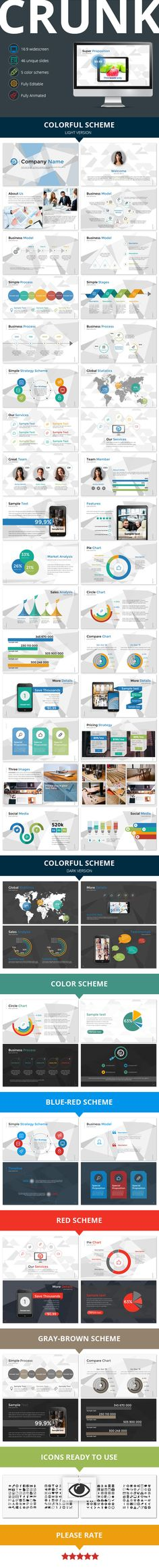 folio powerpoint presentation template | powerpoint presentation, Presentation templates