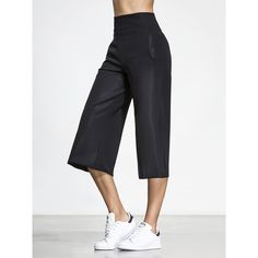 Carbon38 Masami Pants ($155) ❤ liked on Polyvore featuring pants, white trousers and white pants