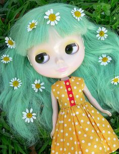 Lovely hair of Blythe enchanted petal