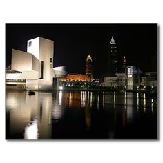 Rock and Roll Hall of Fame Cleveland Ohio Post Card