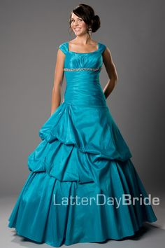 Bridesmaid & Prom, Bernadette | LatterDayBride & Prom -Modest Mormon LDS Prom Dress
