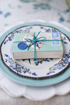 A Colour Story – Verde & Indigo Blue Wedding, Wedding Table, Wedding Favors, Wedding Decorations, Dream Wedding, Wedding Things, Cornflower Wedding, Wedding Card, Wedding Stuff
