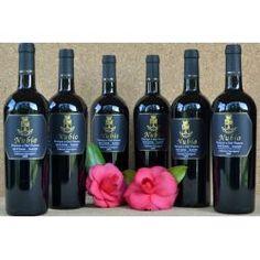"""€ 23,00 a bottle """"Azienda Agricola Petricci e Del Pianta"""" NUBIO 2008- Val di Cornia Suvereto DOC in 6-bottle box. Available also in 1 and 3-bottle box."""