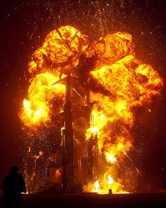 2010 - Burning Man: Metropolis - the man burn. photo by Dan O'Day via flickr