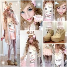 Alexa Poletti she is one of my favourite youtubers!!! She's gorgeous and so cute!! And sweet! You should check her out! <3