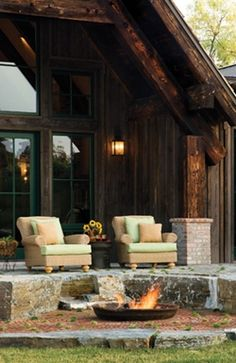Cool outdoor firepit