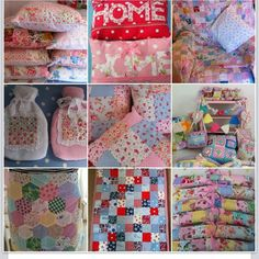Patchwork prettiness , more on my little blog www.francine-patchworkandlace.blogspot.com