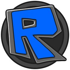 Roblox Logo (blue-grey) by QuestLog on DeviantArt