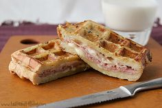 monte christo waffle-paninis
