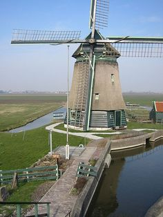 Examples of energy production and consumption in the first energy landscape Windmills In Amsterdam, Holland Windmills, Moulin France, Throughout The World, Around The Worlds, Tilting At Windmills, Blowin' In The Wind, Water Mill, Water Management