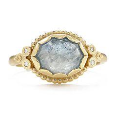 Greenwich Jewelers   Megan Thorne Sapphire and Diamond Ring