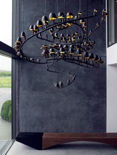 .Original chandelier
