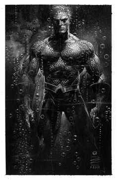 Aquaman. Always did have a soft spot for this superhero.