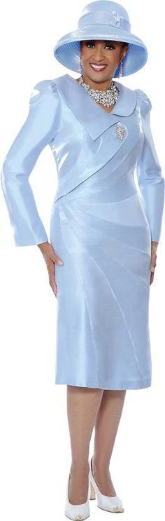 a31fe01154 Check out the deal on DCC Rose 3545 Womens Long Sleeve Church Dress at French  Novelty