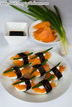 South-of-the-Border Sushi Appetizers Recipe — Dishmaps