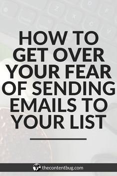 How to get over your fear of sending emails! Email Marketing Strategy, Business Marketing, Business Tips, Online Marketing, Online Business, Digital Marketing, Marketing Software, Business Quotes, Creative Business