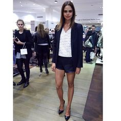 Spotted! @sam_harris at @davidjonesstore #VFNO2014 looking beautiful as always! Stay tuned for all the #JETSswimwear runway action Xx