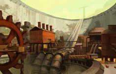 Pit City Wideshot by niuner.deviantart.com on @DeviantArt