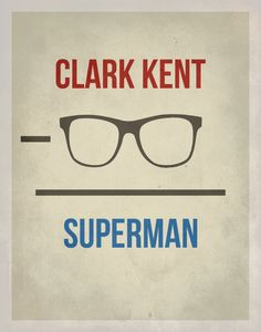 Geekery Typography / Superman Arithmetic by EntropyTradingCo