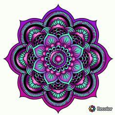 – My colorings - Malvorlagen Mandala Mandala Design, Mandala Art, Mandalas Drawing, Mandala Coloring Pages, Mandala Tattoo, Mandala Pattern, Colouring Pages, Coloring Books, Color Pencil Art