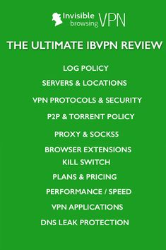 There are many thinks to love about ibVPN, that I consider one of the best VPN providers. It offers great features, nice apps and fair pricing. The ultimate ibVPN review! #vpn #vpnreviews #ibvpn