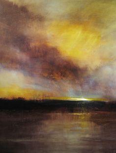 "Saatchi Online Artist: Maurice Sapiro; Oil, 2010, Painting ""Last Light"""
