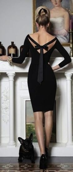 street style own the night black dress @wachabuy