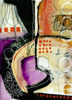 Jane Davies - collage journeys blog