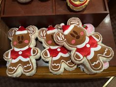 Mickey Mouse Double-Sided Gingerbread pillow available in Disneyland Tokyo Disney Christmas Decorations, Disney World Christmas, Disney World Food, Mickey Christmas, Disney Ornaments, Very Merry Christmas, Christmas Time, Disneyland Christmas, Christmas Cakes