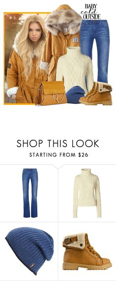 """""""Baby it's cold!"""" by gallant81 ❤ liked on Polyvore featuring Tory Burch, Lands' End, Polo Ralph Lauren and Chloé"""
