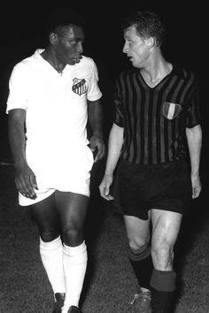 Giovanni Trapattoni & El rey Pelé
